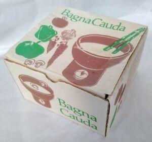 Boxed Vintage Habitat Bagna Cauda