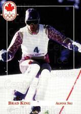 1992 Canadian Olympic Hopefuls #20 Brad King