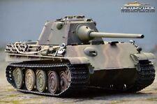 RC Panzer 2,4 GHZ Panthère Réalisation F Taigen Professionnel Métal édition BB 1