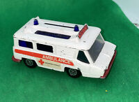 Vintage Corgi Toys Motorway Service Ambulance Die-Cast