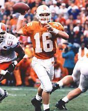 "Tennessee Volunteers Peyton Manning Pass Vols College Football Photo 11""x14"""