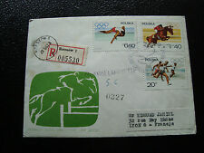 POLOGNE -  enveloppe 1967 (cy22) poland