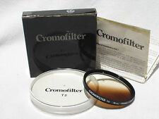 CROMOFILTER T2  55mm France (  Cromo filter ) with box ,case, instructions