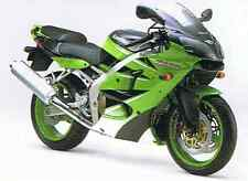 KAWASAKI TOUCH UP PAINT KIT 2000 ZX6R GREEN AND BLACK .
