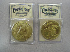 Everquest II Set of 2 Collector's Series Coins  EQ2 Everquest 2 Coins #2 & #3
