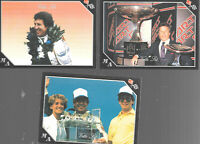 Lot Of 3 Mario Andretti Vette Set Corvette Trading Cards 1991 Inaugural Edition