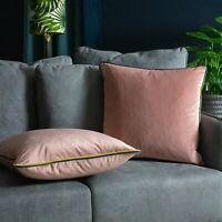 Furn Gemini Cushion with double pipe, in Blush/Bamboo/Teal
