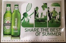 "Heineken Beer Signs-Floor/Wall Vinyl Stickers - "".Best Of Summer"" - Man Cave"