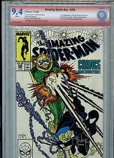 Amazing Spider-man #298 Marvel Comics VSP CBCS 9.4 NM 1988 Signed Todd NcFarlane