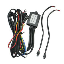 LED Daytime Running Light DRL Relay Harness Auto On/Off Dimmer Control Switch