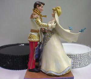 Cinderella Disney Display Wedding Cake topper Groom top centerpiece Figurine top