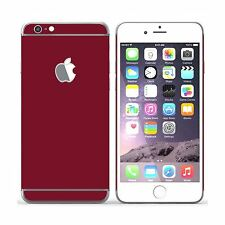 Plain Coloured Skin Sticker Self-adhesive Vinyl for iPhone 6 / 6S 4.7""