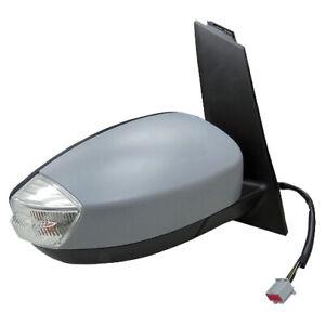 Rétroviseur droit électrique coque à peindre ind. de direction-FORD C-MAX 10->15