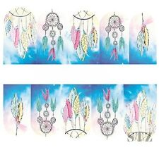 Nail Art Sticker Water Decals Transfer Stickers Mystic Dreamcatchers Sky (DB307)