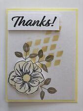 Card Kit Set Of 4 Stampin Up THANKS Hello Honey Flower