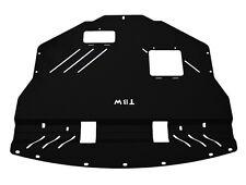 Aluminum Under Tray for 2011-2014 Subaru WRX STI Engine Shield Skid Plate BLACK