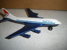 Vintage 1973 Lesney Matchbox Boeing 747 British Airways Jet
