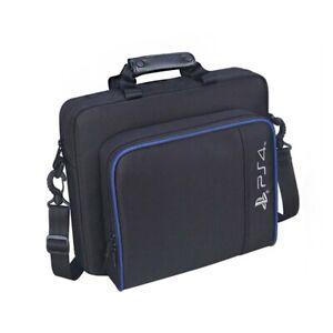 Black Oxford Carry Travel Case Shoulder Bag For PS4/Pro/Slim Game Consoles`