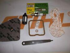 Stihl FS/KM/HL90/95/100/110/130 Kit de servicio completo + Cable de Tracción + primer bulb