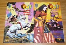 Shi: East Wind Rain #1-2 VF/NM complete series - crusade comics bad girl tucci
