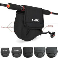 SBR Spinning Reel Cover Case Shield Protector Neoprene Fishing Reel Bag S M L