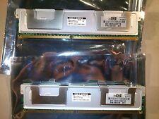 2x SAMSUNG/HP 4GB (8 GB Total) 2RX4 PC2-5300F-555-11-E0 ECC Registered Memory