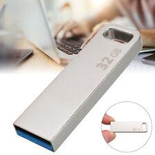 32GB USB 3.0 Metal Flash Memory Stick Pen Drive Mini Storage U-Disk for PC Mac