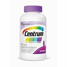 2-PACK Centrum Women Multivitamin Supplement 250 Tablets EXP. 7/2017 (D2)