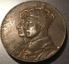 1939 KING GEORGE  ROYAL VISIT CANADA BRONZE COIN