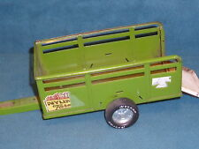 "VINTAGE NYLINT FARMS WAGON PRESSED STEEL 11-1/4"" LONG"
