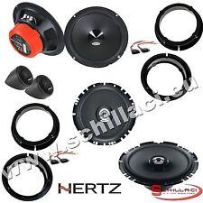 con adattatori e supporti anterio -2010//* Kit 6 altoparlanti HERTZ per VW Polo