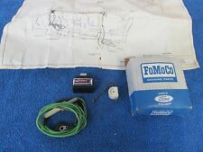 1967 FORD GALAXIE 500 XL DASH PARKING BRAKE WARNING LIGHT WITH SWITCH NOS 215