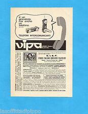 TOP971-PUBBLICITA'/ADVERTISING-1971- VIPA - TELEFONI COMUNICANTI (B)