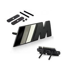 OEM Grille ///M Emblem Badge Sticker 3d for BMW M3 M5 E36 Series SU Black  WH