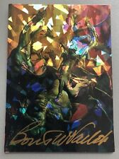 Boris Vallejo Signed Prism Trading Card - 52 Quest