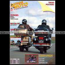 LE MONDE DE LA MOTO N°191-b KAWASAKI 750 ZEPHYR ZZR 600 HONDA GL 1500 GOLD WING
