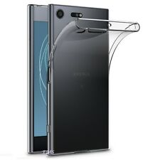 Thin Slim Soft Clear Transparent Gel Case Cover For Sony Xperia XZ Premium
