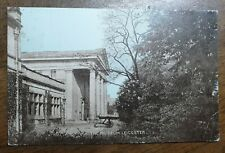 1906 Leicester, The Museum. Postcard