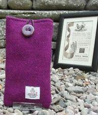 Harris Tweed étui coque étui pour Apple iPhone 7 - violet