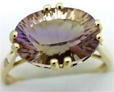 Natural 5.35ct AMETRINE 9k 9ct 375 Solid Gold Ring