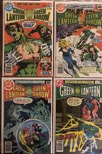Green Lantern 110,113,118,124* 4 Book Lot * DC Comics! Hal Jordan! Vol.2!