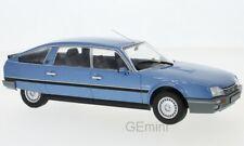Citroen CX 2500 bleu 1986 1/24 Whitebox