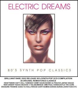 Best Greatest 80's Synth Pop Hits 2CD  Yazoo Japan Cell Frankie OMD Numan Visage