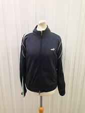 Womens Puma Retro Tack Top - Size Uk10/12 - Great Condition