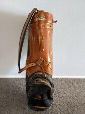 "Vintage Titleist Leather Golf Bag - ""The Phoenician"" Resort Branded"