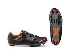 Northwave Razer MTB Shoe, Black/Orange, Size 42
