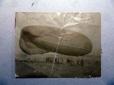 Foto 1 Guerra Mondiale Luftwaffe MONGOLFIERA 1917 inglese preda Manfred Richthofen