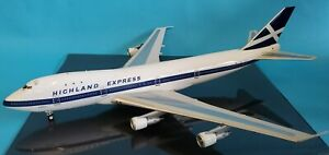 INFLIGHT200 BOEING 747-100 HIGHLAND EXPRESS G-HIHO Ref: IF7411216 (with stand)