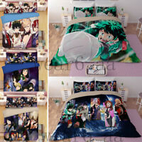 My Hero Academia Design Bedding Sets 2PC/3PC Of Duvet Cover & Pillowcase Gift