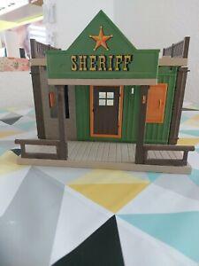 Playmobil western sheriff office